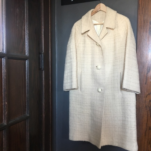 Vintage Jackets & Blazers - Vintage French Wool Coat